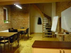Blick von Eingangstür in Gruppenraum