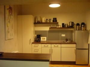 Blick in (offene) Küche