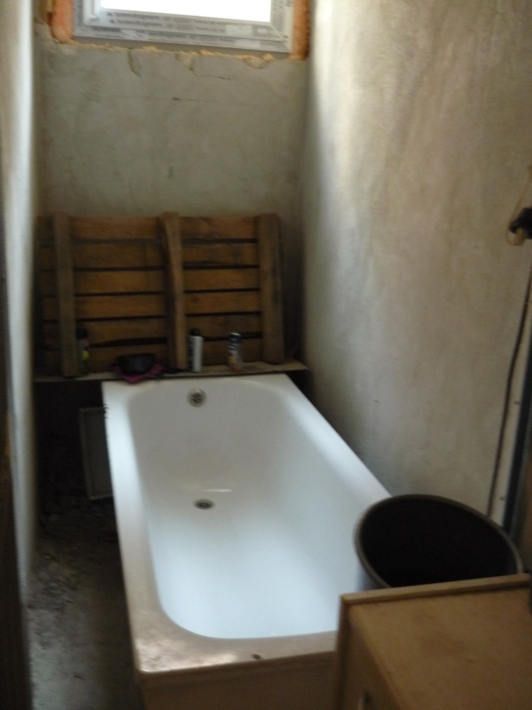 Sinahs SINNergie-Schmiede Sanitärraum vorher